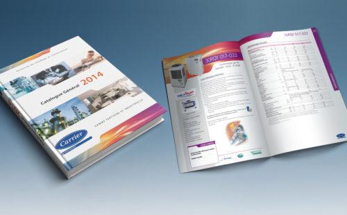Mise en page & impression Catalogue